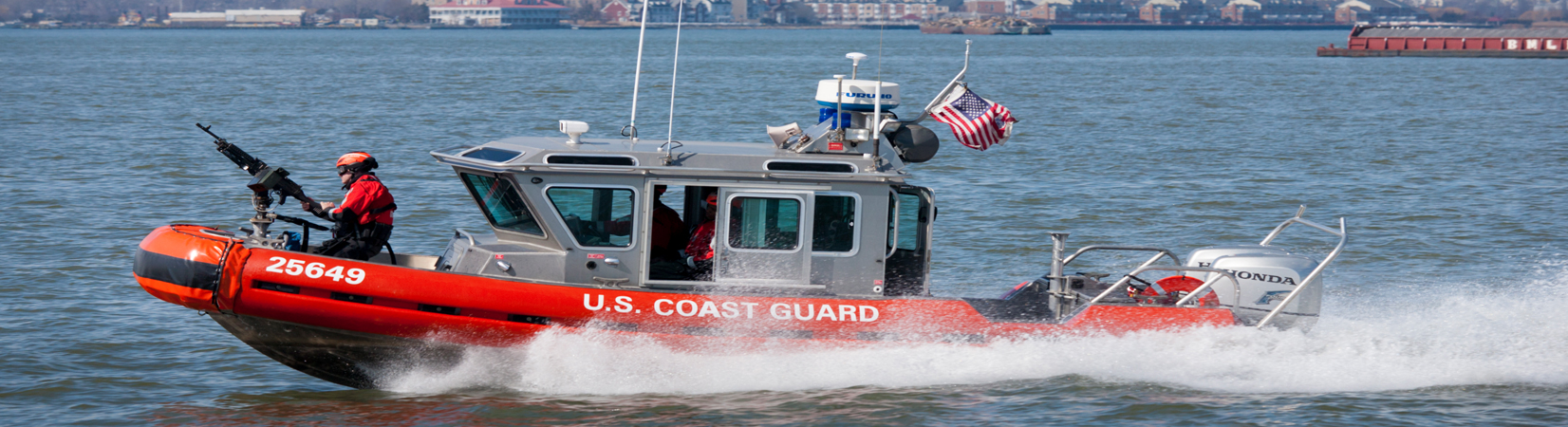 United States Coast Guard Vessel Underway