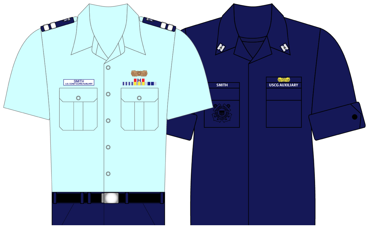 coast guard auxiliary uniforms choice image